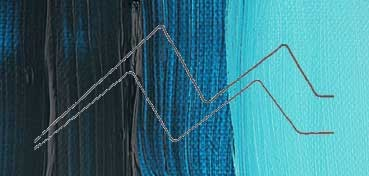 WINSOR & NEWTON ÓLEO GRIFFIN ULTRAMAR (SOMBRA VERDE) (ULTRAMARINE GREEN) SERIE 1 Nº 667