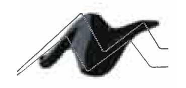 TULIP 3D PAINT NEGRO / SLICK BLACK