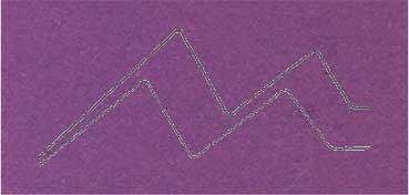 PASSE - PARTOUT ALMA CRUDA 1,2MM 60X80CM MORADO