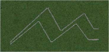 PASSE - PARTOUT ALMA CRUDA 1,2MM 60X80CM VERDE PINO