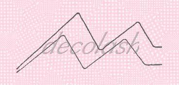 DECOLASH PAPEL DECOUPAGE SERIE INFANTIL LUNARES ROSA PALO 47X32CM