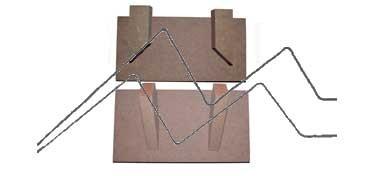 DECOLASH COLGADOR DE PARED LINEA BÁSICA - BASE DE 20X10 CM - 2 COLGADORES DE 9 CM
