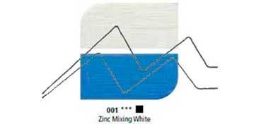 DALER ROWNEY ÓLEO FINO GRADUATE ZINC MIXING WHITE Nº 001