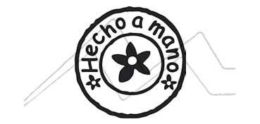ALADINE SELLO DE CAUCHO MONTADO EN MADERA SERIE B - HECHO A MANO (EN CASTELLANO) -
