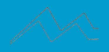 DECOART AMERICANA ACRÍLICO MATE AZUL CALYPSO (CALYPSO BLUE) DA234
