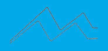 DECOART SOSOFT PINTURA PARA TELA AZUL OCÉANO (OCEAN BLUE) DSS86