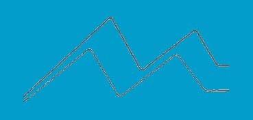 DECOART AMERICANA GLOSS ENAMEL AZUL CALYPSO (CALYPSO BLUE) DAG234