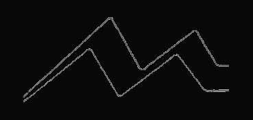 DECOART GLASS STAIN NEGRO (BLACK) GLS12