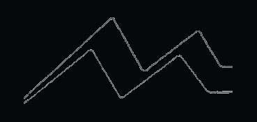 DECOART GLASS PAINT MARKERS - ROTULADORES AL AGUA PARA VIDRIO Y PORCELANA - NEGRO (BLACK) DGPM14
