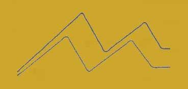 DECOART GLASS PAINT MARKERS - ROTULADORES AL AGUA PARA VIDRIO Y PORCELANA - ORO (GOLD) DGPM02