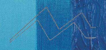 COBRA STUDY ÓLEO AL AGUA AZUL CERÚLEO FTALOCIANINA (CERULEAN BLUE PHTALO) - Nº 535