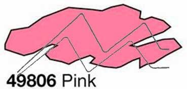 HOBBY LINE PIC TIXX PINTURA 3D EFECTO VOLUMEN CON APLICADOR FINO PLUSTER&LINER ROSA