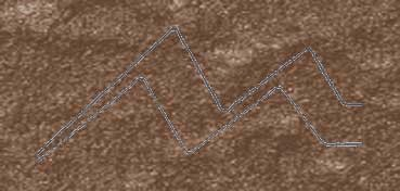 DECOART TEXTURE FIERRO TEXTURA HIERRO MARRÓN - BROWN IRON - TXF02 -