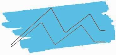 KURETAKE ZIG CLEAN COLOR REAL BRUSH ROTULADOR ACUARELABLE LIGHT BLUE Nº 036