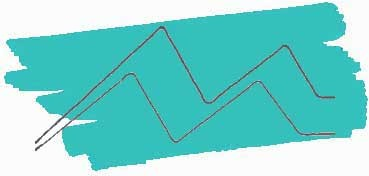 KURETAKE ZIG CLEAN COLOR REAL BRUSH ROTULADOR ACUARELABLE TURQUOISE GREEN Nº 042