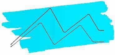 KURETAKE ZIG CARTOONIST KURECOLOR FINE & BRUSH FOR MANGA  -  ROTULADOR AL ALCOHOL DE 2 PUNTAS FINA - PINCEL LIGHT BLUE Nº 302