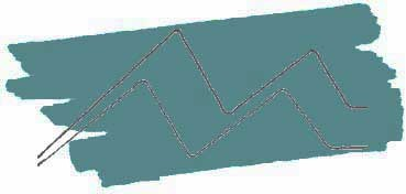 KURETAKE ZIG CARTOONIST KURECOLOR FINE & BRUSH FOR MANGA  -  ROTULADOR AL ALCOHOL DE 2 PUNTAS FINA - PINCEL PEACOCK BLUE Nº 339