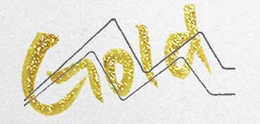 KURETAKE ZIG WINK OF STELLA BRUSH GLITTER ROTULADOR PINCEL GOLD Nº 101