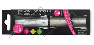 KURETAKE ZIG WINK OF STELLA BRUSH SET DE 3 ROTULADORES PINCEL GLITTER PRETTY GARDEN
