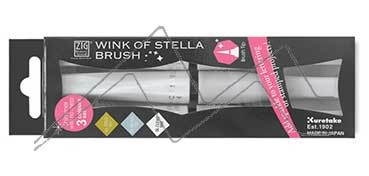 KURETAKE ZIG WINK OF STELLA BRUSH SET DE 3 ROTULADORES PINCEL GLITTER CHRISTMAS SPARKLE