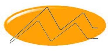 DECOART AMERICANA MULTI-SURFACE SATIN ORANGE SHERBET DA-510