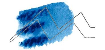 DANIEL SMITH EXTRA FINE WATERCOLOR STICK PHTHALO BLUE (RED SHADE) (AZUL FTALO -SOMBRA ROJA-), PIGMENTO: PB 15:6 Nº 48