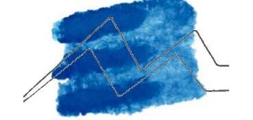 DANIEL SMITH EXTRA FINE WATERCOLOR STICK CERULEAN BLUE CHROMIUM (AZUL CERULEO DE CROMO), PIGMENTO: PB 36 Nº 22