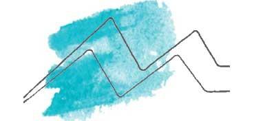 DANIEL SMITH EXTRA FINE WATERCOLOR STICK COBALT TEAL BLUE (AZUL TURQUESA DE COBALTO) , PIGMENTO: PG 50 Nº 32