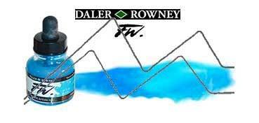 DALER ROWNEY TINTA ACRÍLICA LÍQUIDA FW ARTIST AZUL FLUORESCENTE (FLUORESCENT BLUE) Nº 100