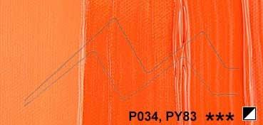 DALER ROWNEY SYSTEM 3 HEAVY BODY ACRÍLICO DE CONSISTENCIA ESPESA NARANJA DE CADMIO (IMIT.) Nº 619