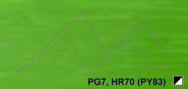 GAMBLIN CONSERVATION COLORS PERMANENT GREEN LIGHT SERIE 3