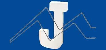 DECOPATCH: LETRA J  MEDIDAS 13 X 20,5 X 3CM