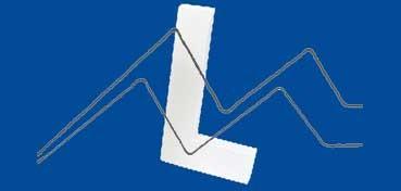 DECOPATCH: LETRA L  MEDIDAS 12 X 20,5 X 3CM