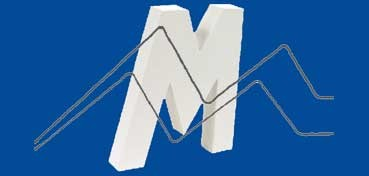 DECOPATCH: LETRA M  MEDIDAS 19,5 X 20,5 X 3CM