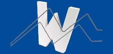 DECOPATCH: LETRA W  MEDIDAS 19,5 X 20,5 X 3CM