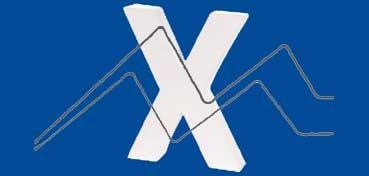 DECOPATCH: LETRA X  MEDIDAS 16,5 X 20,5 X 3CM