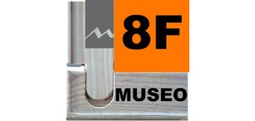 BASTIDOR MUSEO (ANCHO DE LISTON 60 X 22) 46 X 38 8F