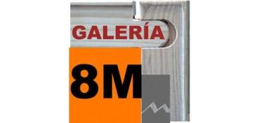 BASTIDOR GALERÍA 3D (ANCHO DE LISTON 46 X 32) 46 X 27 8M