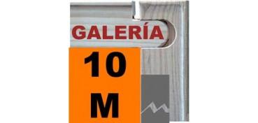 BASTIDOR GALERÍA 3D (ANCHO DE LISTON 46 X 32) 55 X 33 10M