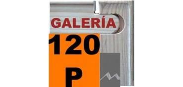 BASTIDOR GALERÍA 3D (ANCHO DE LISTON 46 X 32) 195 X 114 120P