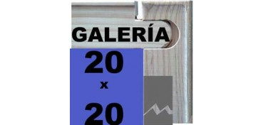 BASTIDOR GALERÍA 3D (ANCHO DE LISTON 46 X 32) 20 X 20