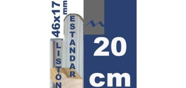 LISTÓN ESTUDIO (46 X 17) - 20 CM