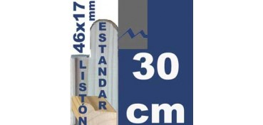 LISTÓN ESTUDIO (46 X 17) - 30 CM
