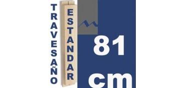TRAVESAÑO ESTUDIO (46 X 17) - 81 CM