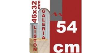 LISTÓN GALERÍA 3D (46 X 32) - 54 CM