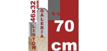 LISTÓN GALERÍA 3D (46 X 32) - 70 CM