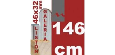 LISTÓN GALERÍA 3D (46 X 32) - 146 CM