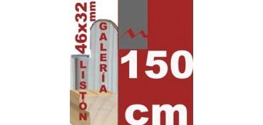 LISTÓN GALERÍA 3D (46 X 32) - 150 CM