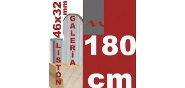 LISTÓN GALERÍA 3D (46 X 32) - 180 CM