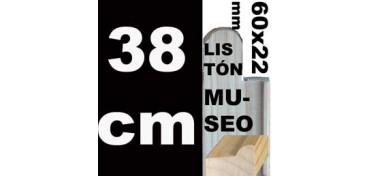 LISTÓN MUSEO (60 X 22) - 38 CM